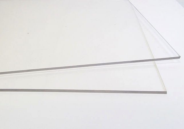 Clear Commercial Grade Acrylic