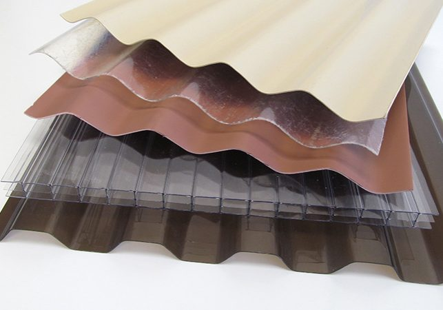 specialty roofing panels at Menards